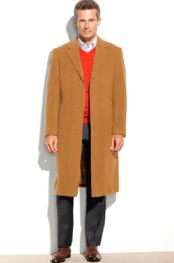 Camelmens95%WoolOvercoat~Topcoat