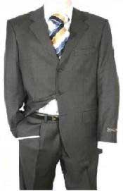 KY93 Dark Dark Grey Masculine color Gray Single Breasted