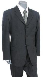 Tesory Italian Design premier quality italian fabric Suit ::