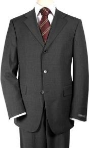 Three-Button-Charcoal-Color-Suit