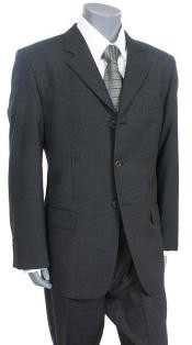 ZIT-K3 Dark Grey Masculine color Gray premier quality italian