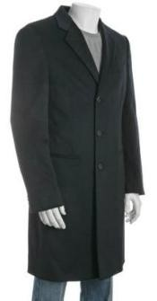 DUMO33 38 inch Three-button notched lapel Navy Blue Shade