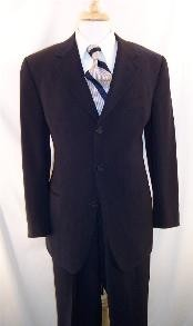 MLD245 3 Button Style Dark Navy Blue Shade Suit