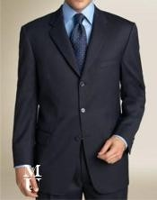 ZT37 $795 #Zlk4 I Deal Navy Blue Shade Suit