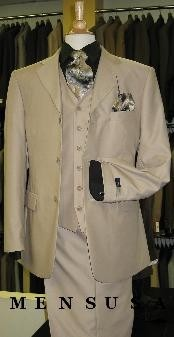M300A British Tan khaki Color ~ Beige Solid 3