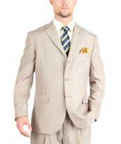 Tazio Suit Three Button Tone