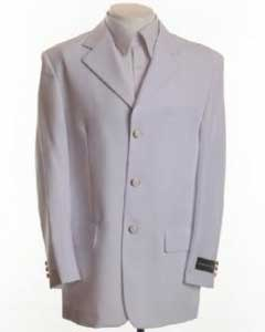 BH896 New White Blazer Online Sale - Three Button