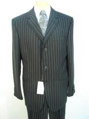 Product#Z3S120Stripe~Pinstripe3ButtonsStyleJetLiquid