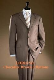 GGD955 Chocolate brown color shade 3 Buttons Style Superior