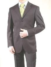 DarkGreyMasculinecolorGray3ButtonStyleDress