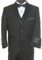 GP2380 Kids Boys 3 piece 2 Button Style Tuxedo