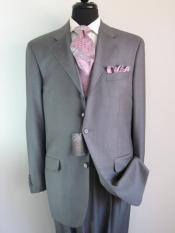 LLJ997 Light Gray 3 Buttons Style Superior Fabric 150s