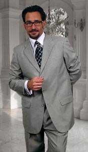 Gianni Gray 3 Button Style