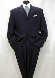 QBW101 $1295 Tsk6 Darkest Navy Blue Shade Wool Fabric