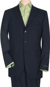 SP2 Solid Navy Blue Shade Quality Suit Separates Total