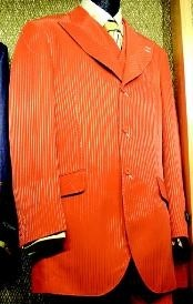 RB647 3 Piece Fashion Suit Orange