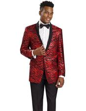 CH1935 Mens Tiger ~ Unique Shiny Fashion Prom ~