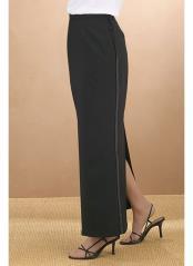 Womens Polyester Tuxedo Skirt