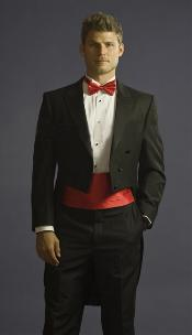 BRE6781 Tuxedo with Tailcoat Center Vented and Flat Front