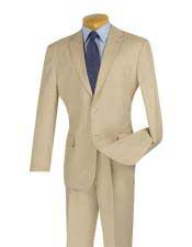 JSM-2914 Mens 2 Button Cheap Slim Fit Notch Lapel