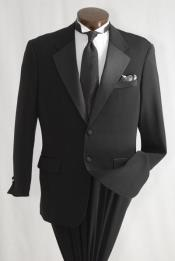 Mens 2 Button Inexpensive Tuxedo
