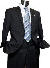 Product#JSM-1023Mens2ButtonsQualityPortlySuits+Black