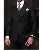 JSM-1266 Mens Statement 3 Piece 2 Button Italian Designer
