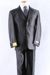 KA2200 Two Button Boy Dress Boys And Men Suit