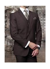 JSM-1275 Mens Statement 3 Piece 2 Button Italian Designer