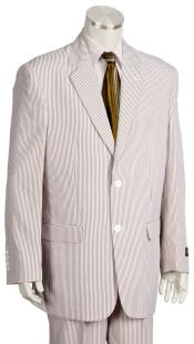 mens Pinstripe Quad DOne Chest