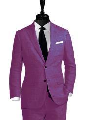 JSM-4602 Alberto Nardoni Best Mens Italian Suits Brands Linen