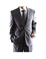 JSM-4781 Braveman Mens 2 Button Charcoal Single Breasted Suit