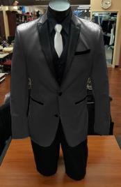 Stage Alberto Nardoni Best Mens Italian Charcoal Grey Suits
