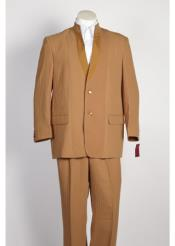JSM-109 Mens Single Breasted Chestnut 2 Button Suit