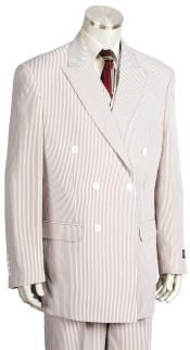 Product# JA93 mens Pinstripe Double Breaste
