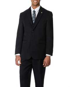 BC-11 Two Button Peak Lapel Vested Three Piece Pleated