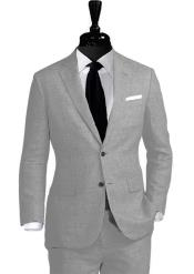 JSM-4597 Alberto Nardoni Best Mens Italian Suits Brands Notch