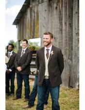 mens casual groomsmen attire any