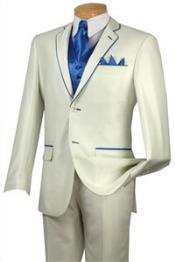 Tuxedo Blue Trim Microfiber