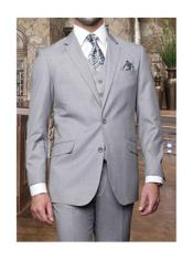JSM-1276 Mens Statement 3 Piece 2 Button Italian Designer