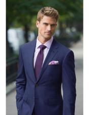 CH1759 Mens navy suit purple tie package deal 2