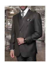 JSM-1272 Mens Statement 2 Button 3 Piece Italian Designer
