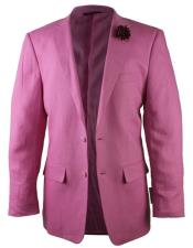 JSM-4474 Alberto Nardoni Best Mens Italian Suits Brands Fuchsia