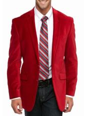 SM5196 Cheap Big And Tall Blazers Clearance Velvet ~