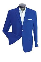 Mens 2 Button Royal Single