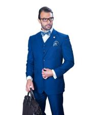 mens Big Size Vested Suits