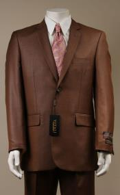 AC-683 Two Button Suit New Edition Shiny Flashy Sharkskin