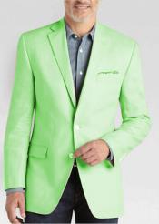 JSM-4470 Mens 2 Button Linen Classic Fit Sport Coat