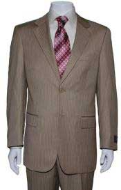 PL1938 Two Button Tan khaki Color ~ Beige Mini