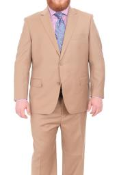 SM4899 Mens Super 140s Wool Notch Lapel Two Button